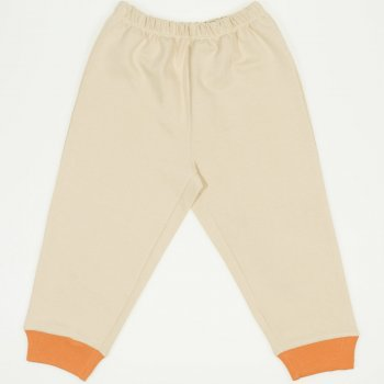 Pantaloni trening bej