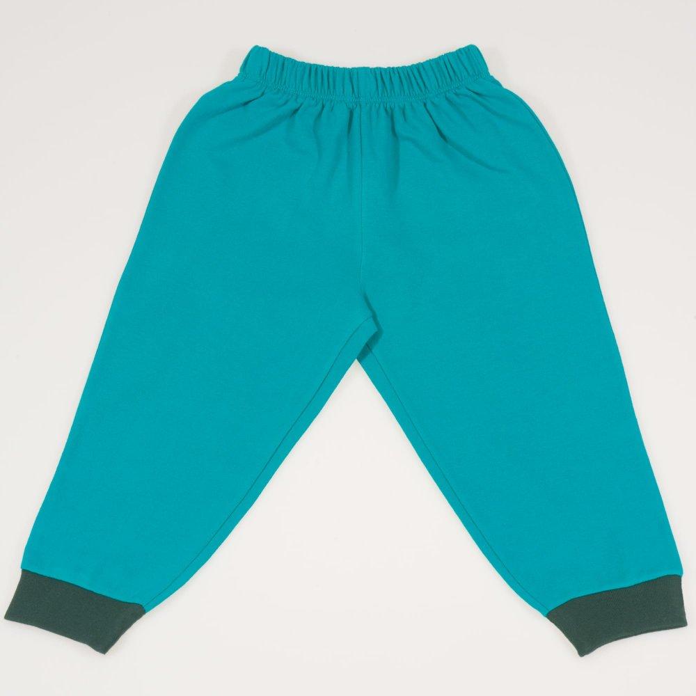 Pantaloni trening verde turcoaz   liloo