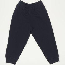 Pantaloni trening grosi bleumarin