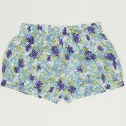 Pantaloni scurti imprimeu model flori