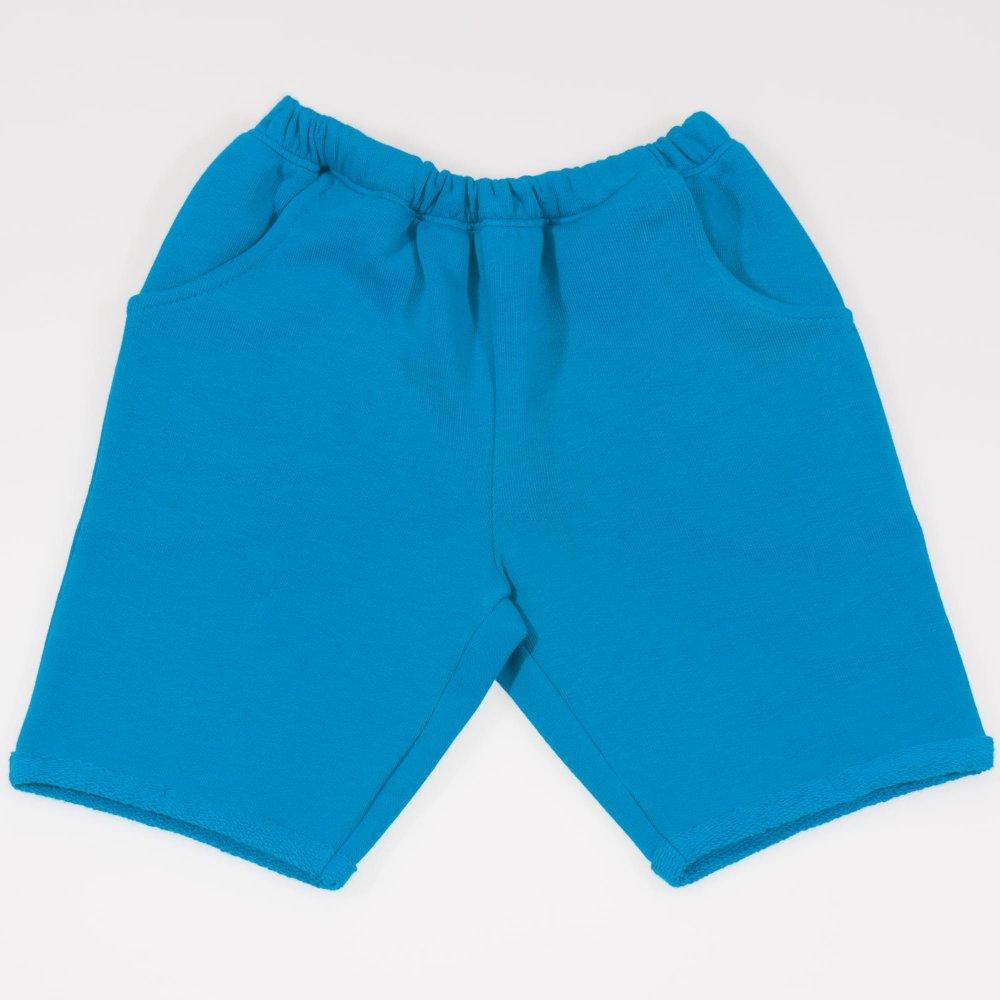 Pantaloni scurti pana deasupra genunchiului enamel-blue | liloo