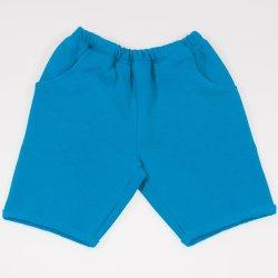 Pantaloni scurti pana deasupra genunchiului enamel-blue