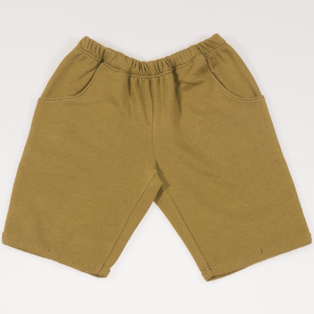 Pantaloni scurti pana deasupra genunchiului kaki masliniu | liloo