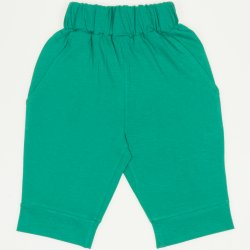 Mint green capri trousers