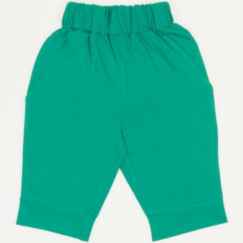 Pantaloni trei sferturi verde mint