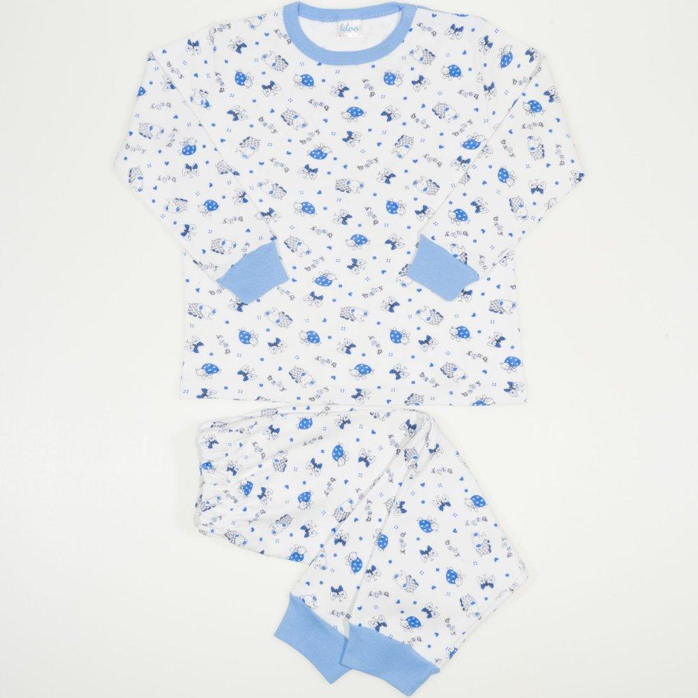 Pijamale groase imprimeu model elefantei | liloo