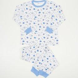 Pijamale groase imprimeu model elefantei