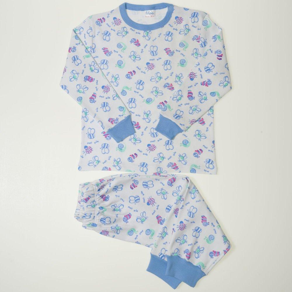Pijamale groase imprimeu model insecte | liloo