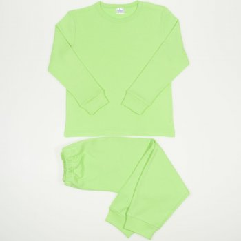 Pijamale groase verde uni | liloo