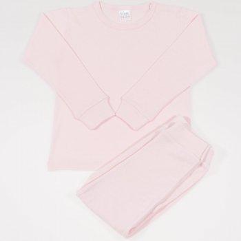 Pijamale bebelusi roz pal - material multistrat premium cu model