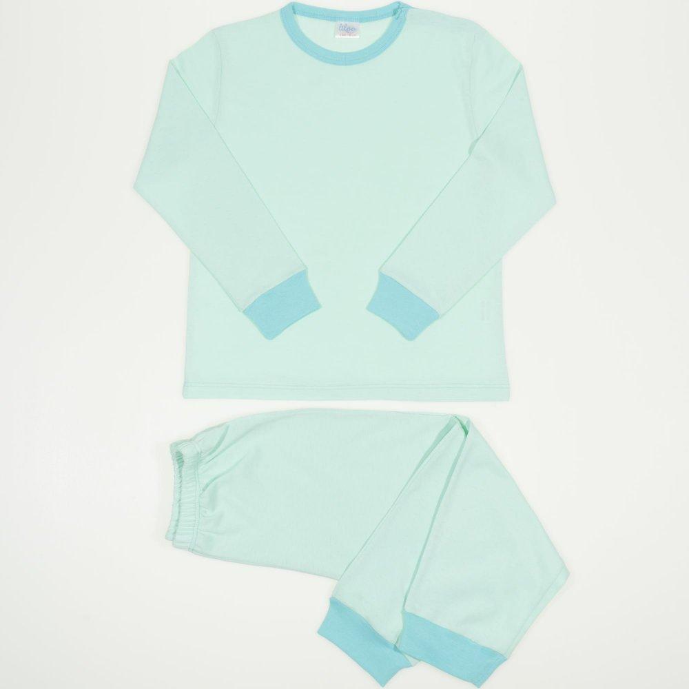 Pijamale primavara-toamna aqua uni   liloo
