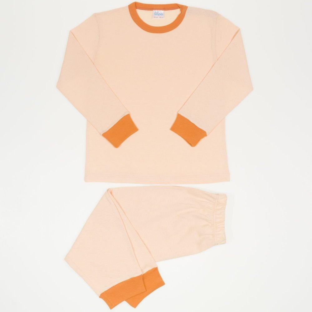Pijamale primavara-toamna bej inchis | liloo