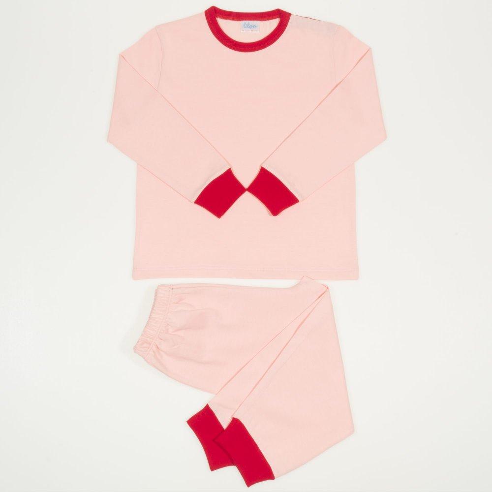 Pijamale primavara-toamna somon | liloo