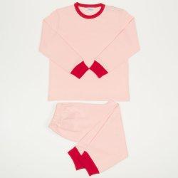 Pijamale primavara-toamna somon