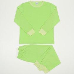 Pijamale primavara-toamna verde lime