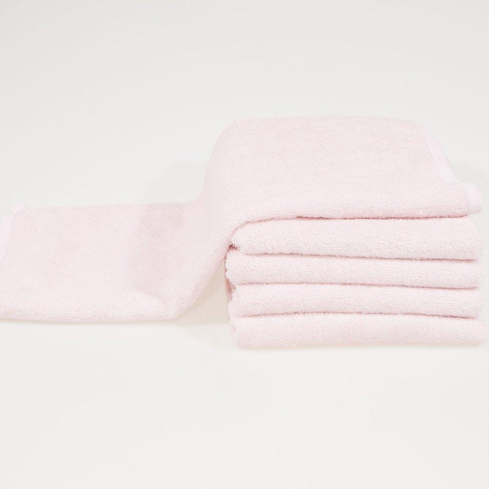Prosoape de fata roz - set 5 bucati   liloo