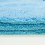 Prosop mare cu gluga - blue topaz premium | liloo