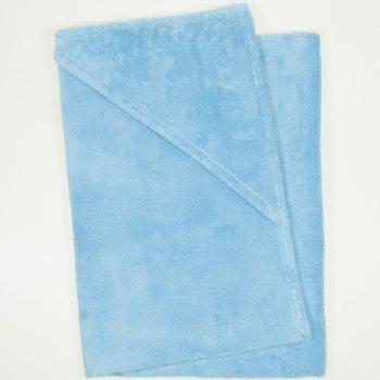 Prosop mare cu gluga - blue topaz premium