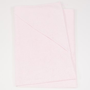 Prosop mare cu glugă - roz