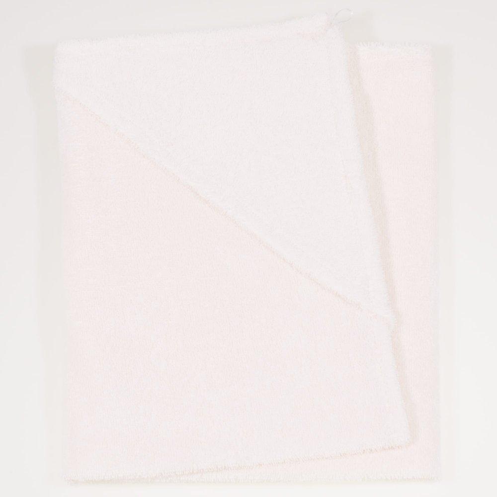 Prosop mic cu gluga - alb perlat | liloo