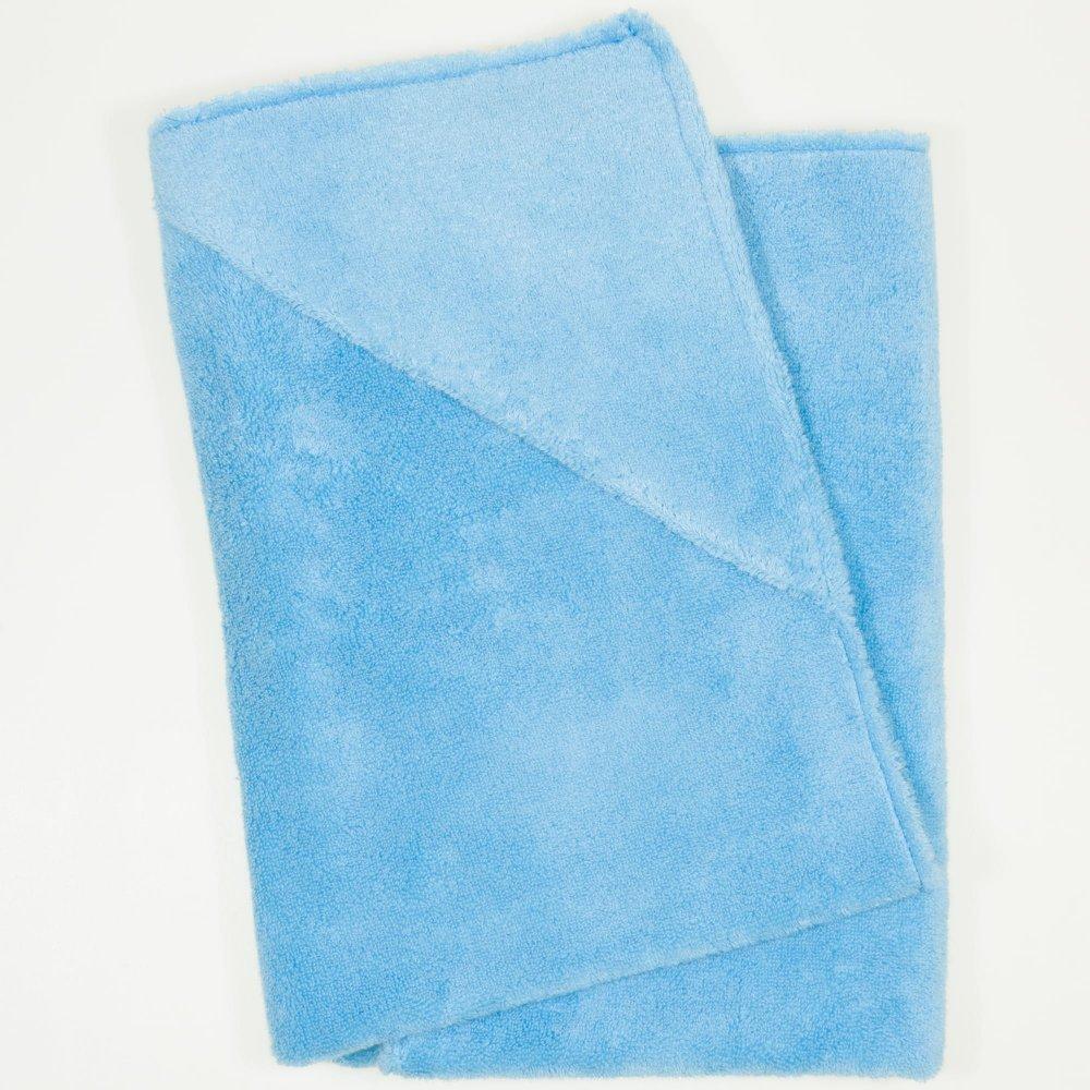 Prosop mic cu gluga - blue topaz premium | liloo