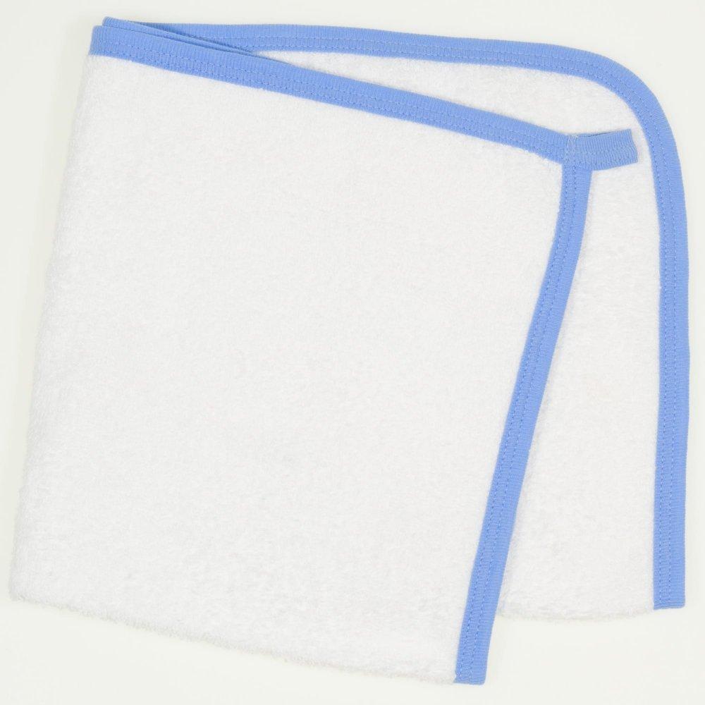 Prosop mic pentru mâini - alb bordaj azur | liloo