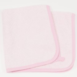 Pink small towel for hands