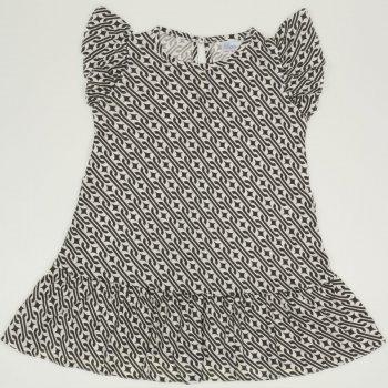 Rochita de vara alb cu negru