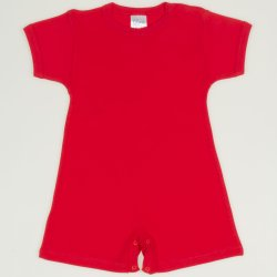 Red tomato romper (short sleeve & pants)