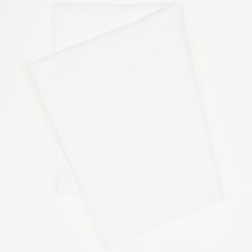 Scutec tetra (bumbac) alb - lavabil și refolosibil   liloo