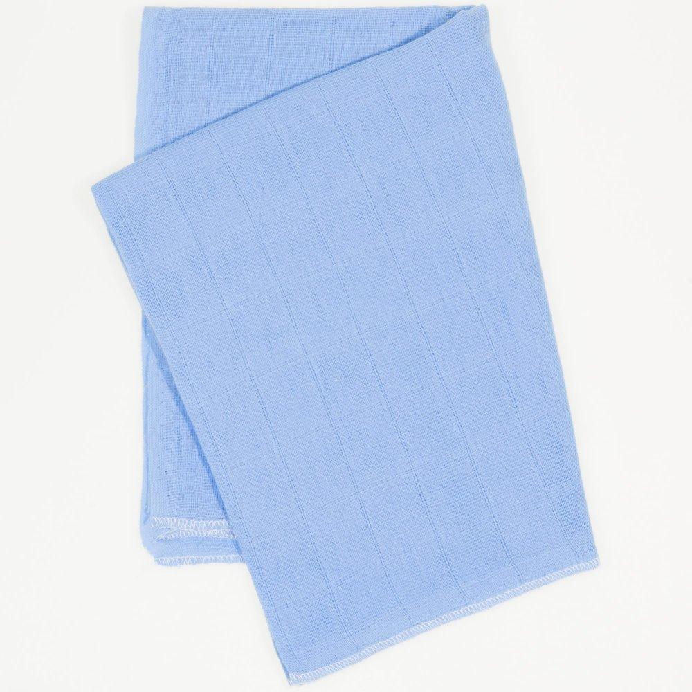 Scutec tetra (bumbac) azur închis - lavabil și refolosibil | liloo