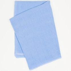 Scutec tetra (bumbac) azur închis - lavabil și refolosibil