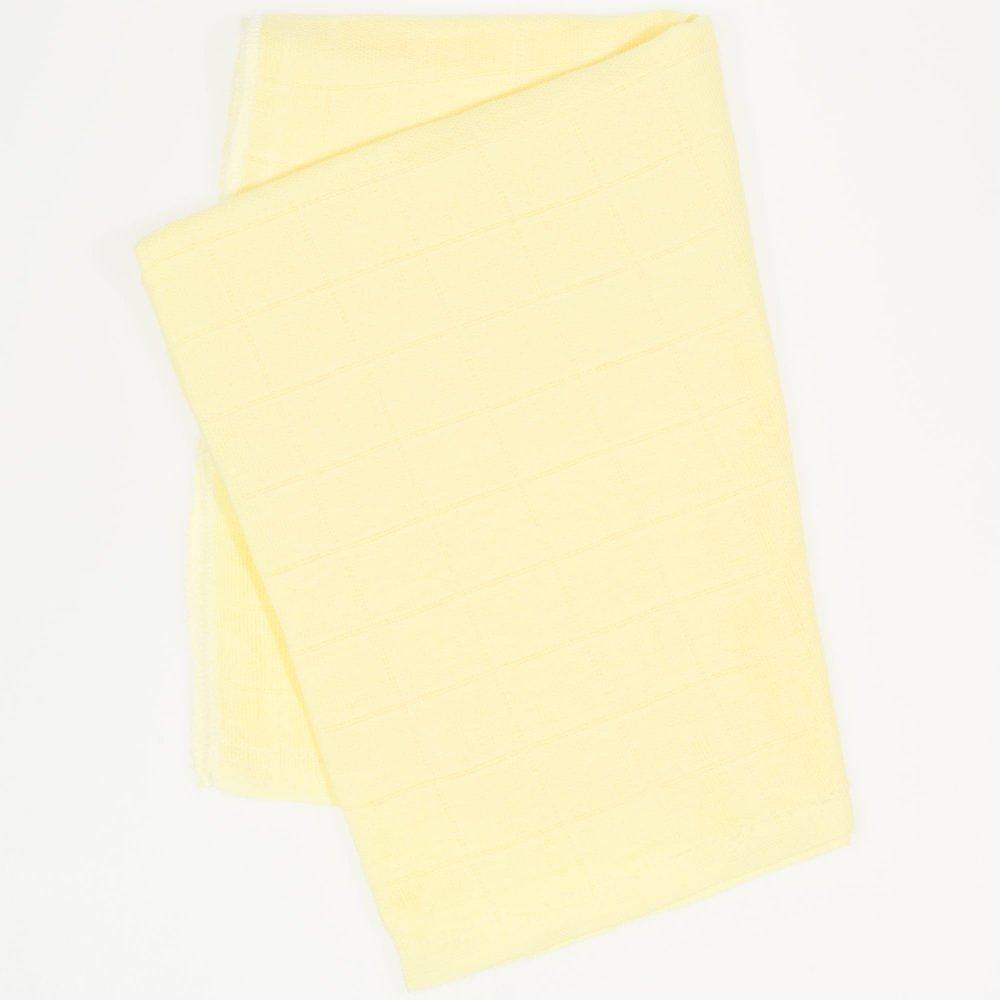Scutec tetra (bumbac) galben - lavabil și refolosibil | liloo