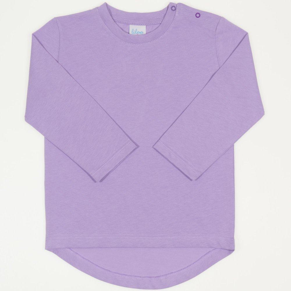 Tricou fetita - maneca lunga violet | liloo