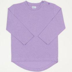 Tricou fetita maneca lunga violet