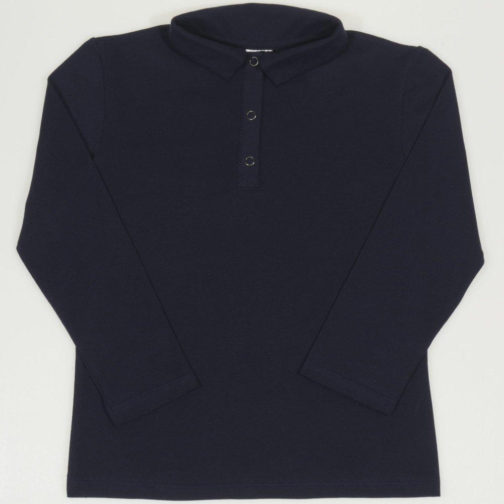 Tricou polo copii - bleumarin | liloo