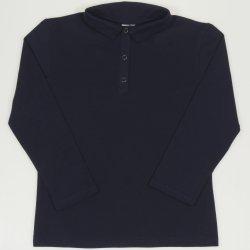 Tricou polo copii - bleumarin
