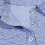 Tricou polo copii - model albastru deschis pique | liloo
