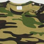 Tricou mânecă scurtă imprimeu model camuflaj | liloo
