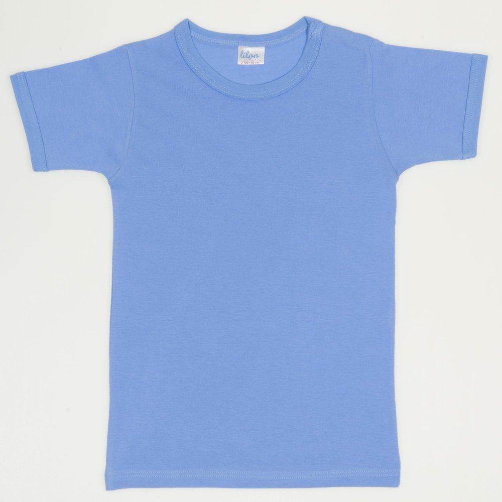 Tricou mânecă scurtă azur | liloo