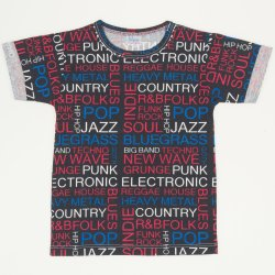Music short-sleeve tee