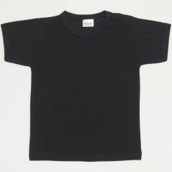 Black short-sleeve tee