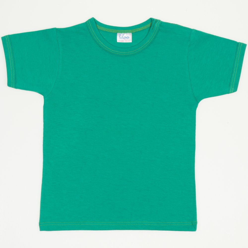 Tricou mânecă scurtă verde mint | liloo