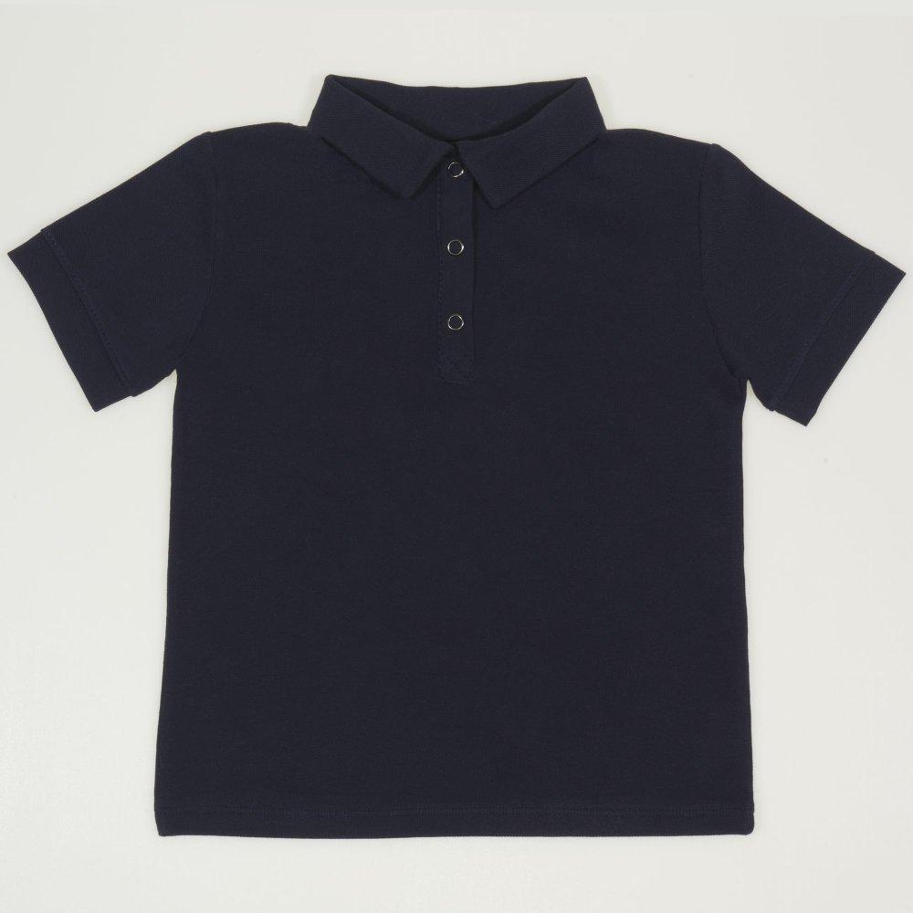 Tricou polo cu maneca scurta copii - bleumarin | liloo