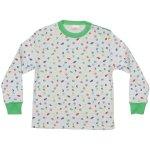 Pijamale groase imprimeu model marin - peștișori   liloo