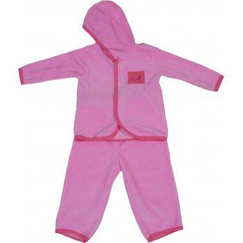 Costum catifea roz