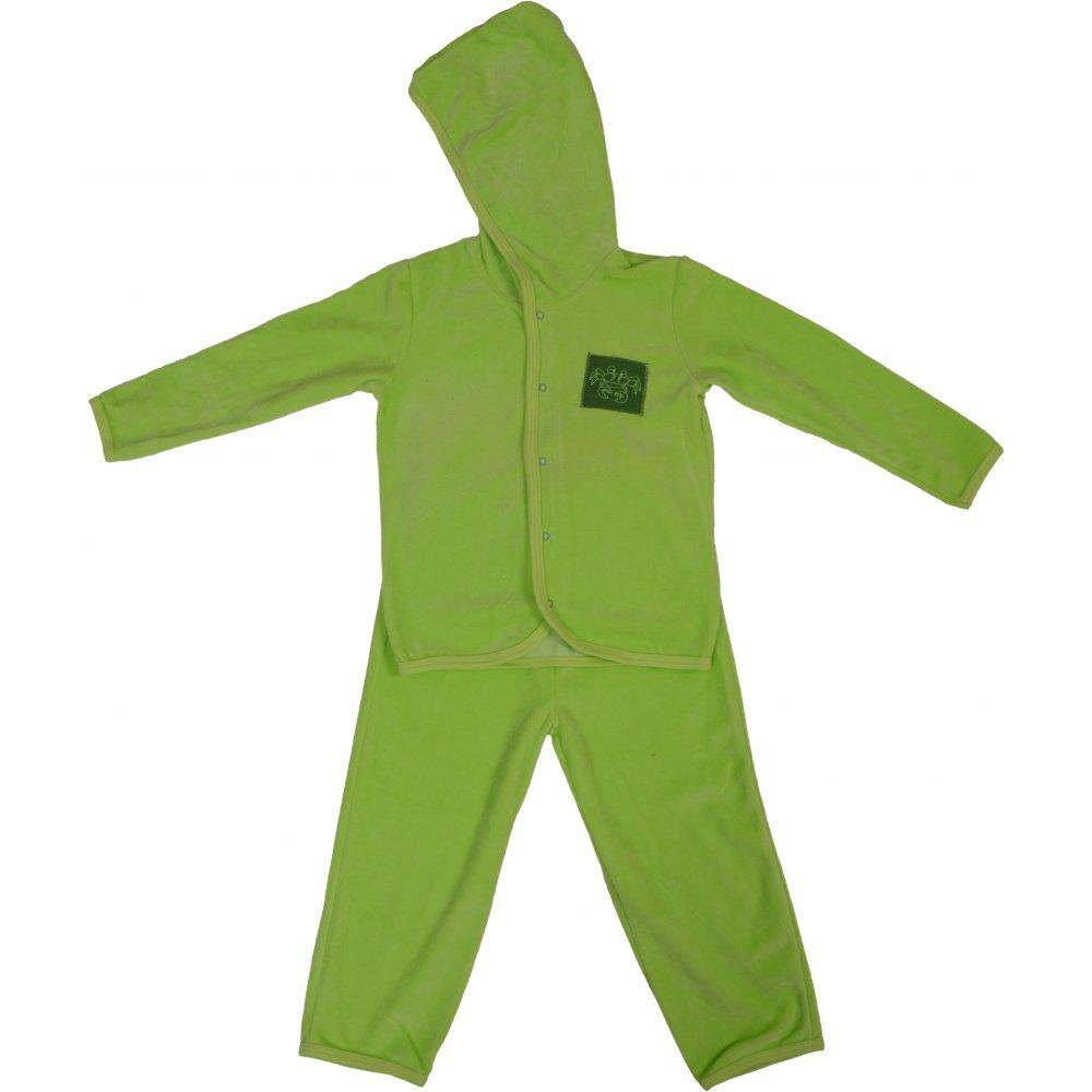 Costum catifea verde-lime | liloo