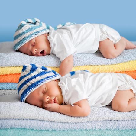 Bumbacul este confortabil pentru bebelusi