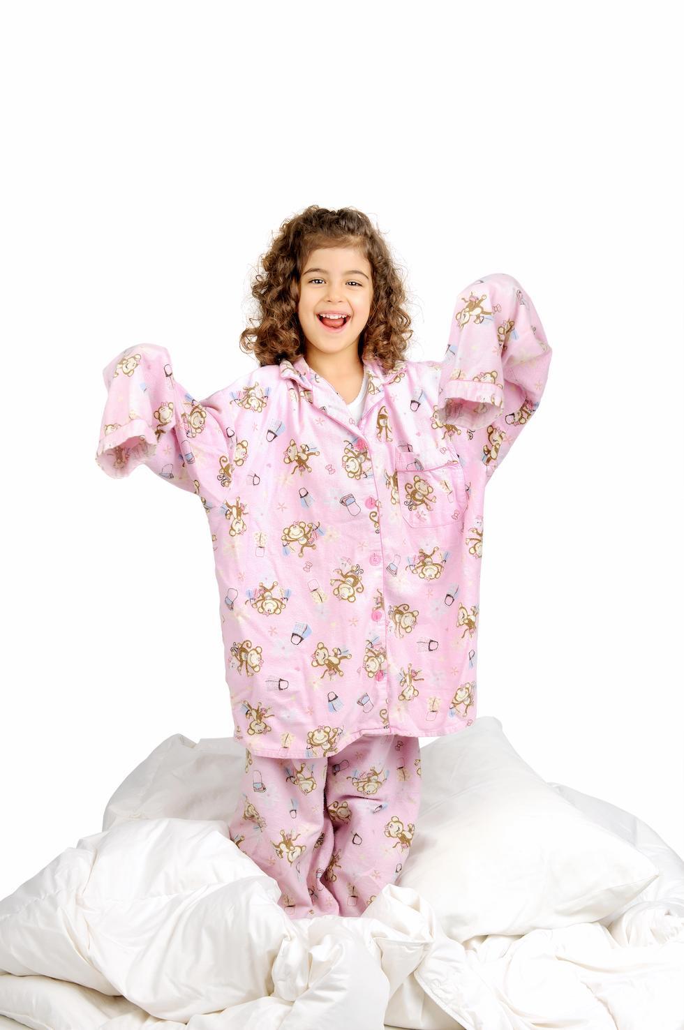 Pijamale pentru copii prea mari