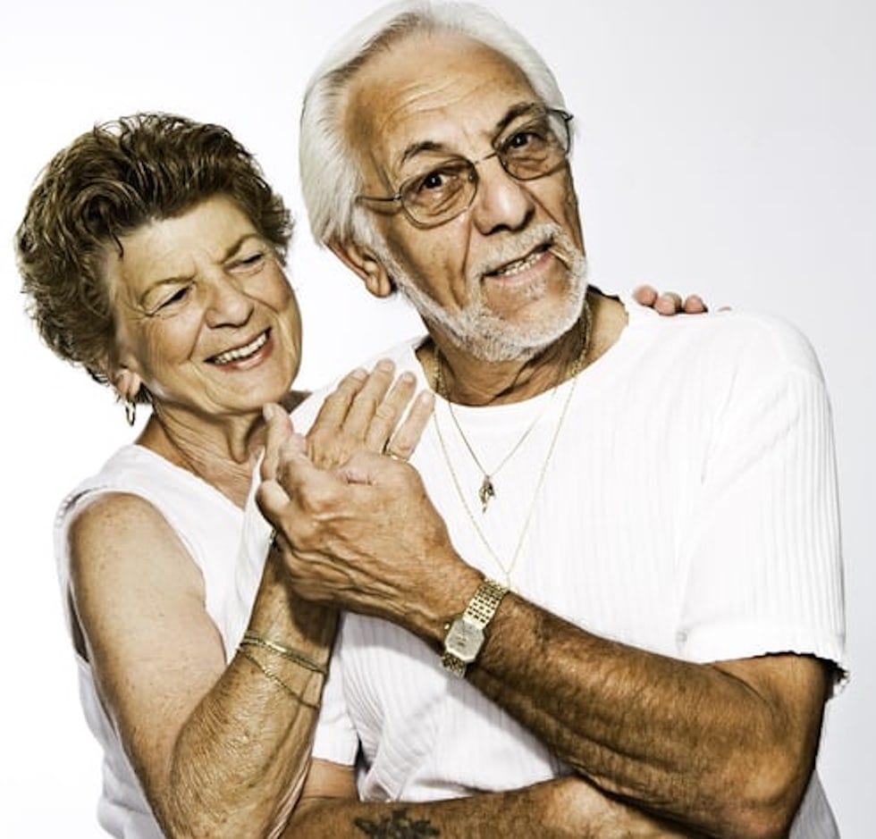 Bunici veseli